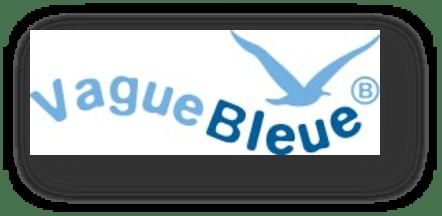 vague bleue